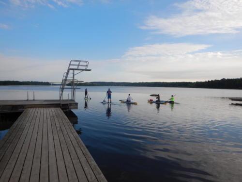 Grupp-SUP-tur med frukost 06.15 på morgonen. Foto: Josefin Winnfors, winnforce.se